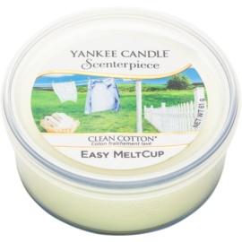 Yankee Candle Scenterpiece  Clean Cotton Wax voor een elektrische wax smelter 61 gr