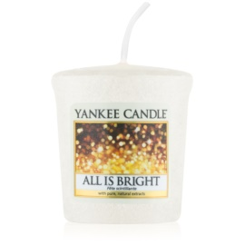 Yankee Candle All is Bright bougie votive 49 g