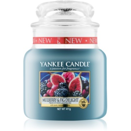 Yankee Candle Mulberry & Fig lumanari parfumate  411 g Clasic mediu