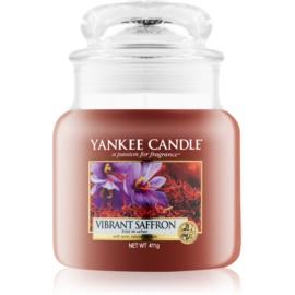 Yankee Candle Vibrant Saffron candela profumata 411 g Classic media