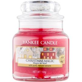 Yankee Candle Christmas Magic vonná svíčka 104 g Classic malá