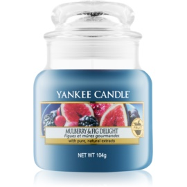 Yankee Candle Mulberry & Fig lumanari parfumate  104 g Clasic mini