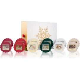 Yankee Candle The Perfect Christmas darilni set V.  vosek za aroma lučko 12 x 22 g