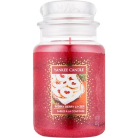 Yankee Candle Merry Berry Linzer Duftkerze  623 g Classic groß