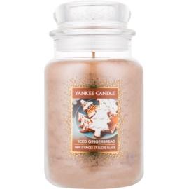 Yankee Candle Iced Gingerbread świeczka zapachowa  623 g Classic duża