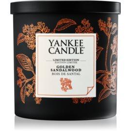 Yankee Candle Golden Sandalwood illatos gyertya  198 g kicsi