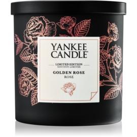 Yankee Candle Golden Rose vela perfumado 198 g pequeno