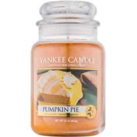 Yankee Candle Pumpkin Pie dišeča sveča  623 g Classic velika