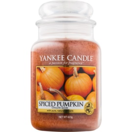 Yankee Candle Spiced Pumpkin Scented Candle 623 g Classic Large