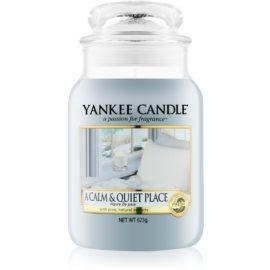Yankee Candle A Calm & Quiet Place świeczka zapachowa  623 g Classic duża