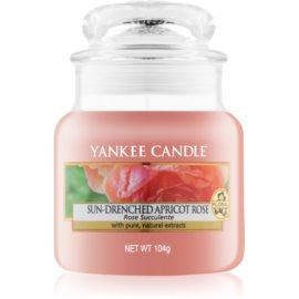 Yankee Candle Sun-Drenched Apricot Rose lumanari parfumate  104 g Clasic mini