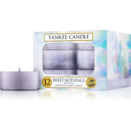 Yankee Candle Sweet Nothings świeczka typu tealight 12 x 9,8 g