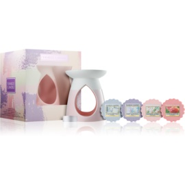Yankee Candle Enjoy the Simple Things Gift Set  Aroma Lamp 1 ks + Aromatic lamp wax 4 x 22 g