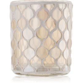 Yankee Candle Champagne Pearl szklany świecznik na sampler