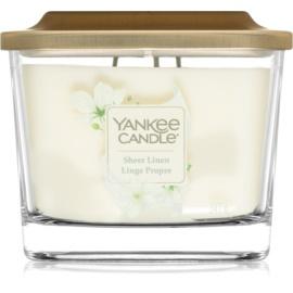 Yankee Candle Elevation Sheer Linen illatos gyertya  347 g közepes