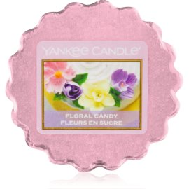 Yankee Candle Floral Candy cera para lámparas aromáticas 22 g