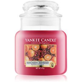 Yankee Candle Mandarin Cranberry candela profumata 411 g Classic media