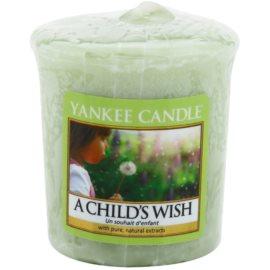 Yankee Candle A Child's Wish viaszos gyertya 49 g