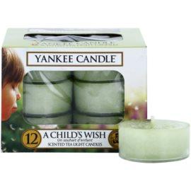 Yankee Candle A Child's Wish čajová svíčka 12 x 9,8 g