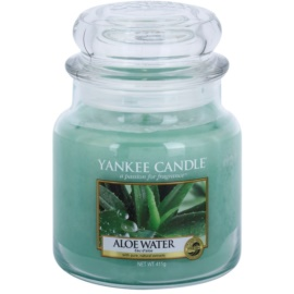 Yankee Candle Aloe Water ароматизована свічка  411 гр Classic  середня