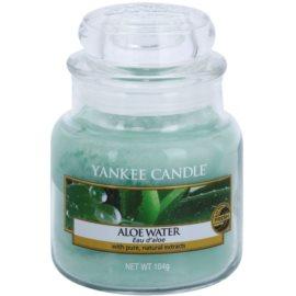 Yankee Candle Aloe Water Duftkerze  104 g Classic mini