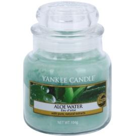 Yankee Candle Aloe Water ароматизована свічка  104 гр Classic  маленька
