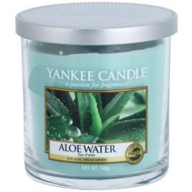Yankee Candle Aloe Water Duftkerze  198 g Décor klein