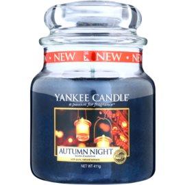 Yankee Candle Autumn Night świeczka zapachowa  411 g Classic średnia