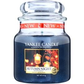Yankee Candle Autumn Night illatos gyertya  411 g Classic közepes méret