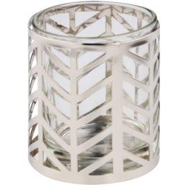 Yankee Candle Arrow Chrome Portavelas de vidrio
