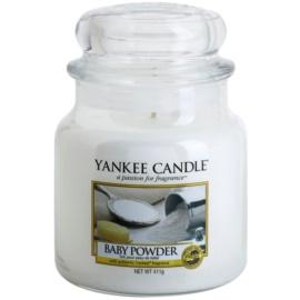 Yankee Candle Baby Powder vonná sviečka 411 g Classic stredná