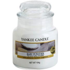 Yankee Candle Baby Powder vonná sviečka 104 g Classic malá