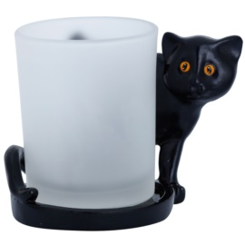 Yankee Candle Black Cats szklany świecznik na sampler