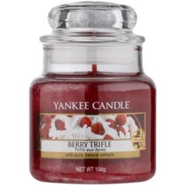 Yankee Candle Berry Trifle ароматизована свічка  104 гр Classic  маленька