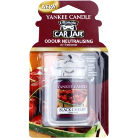 Yankee Candle Black Cherry ambientador de coche para ventilación   de suspensión