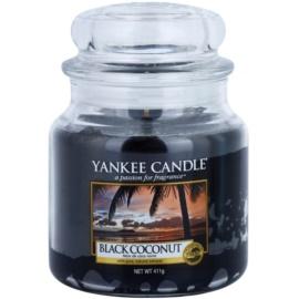 Yankee Candle Black Coconut ароматизована свічка  411 гр Classic  середня