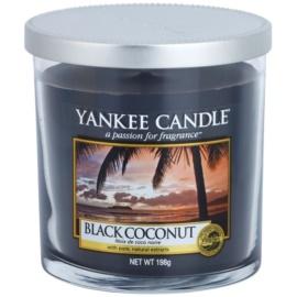 Yankee Candle Black Coconut dišeča sveča  198 g Décor majhna