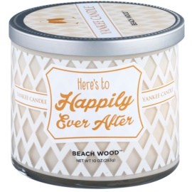 Yankee Candle Beach Wood vela perfumado 283 g  (Here´s to Happily Ever After)