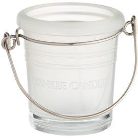 Yankee Candle Glass Bucket Стъклен свещник с вотивна свещ