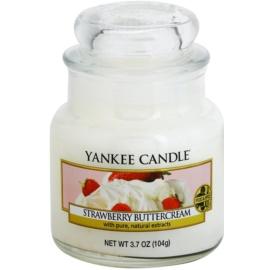 Yankee Candle Strawberry Buttercream Duftkerze  104 g Classic mini