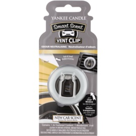 Yankee Candle New Car Scent dišava za avto 4 ml clip