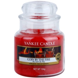 Yankee Candle Cosy By the Fire Duftkerze  104 g Classic mini