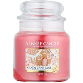Yankee Candle Candy Cane Lane vela perfumado 411 g Classic médio