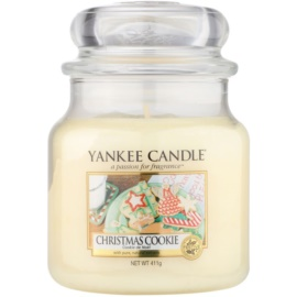 Yankee Candle Christmas Cookie candela profumata 411 g Classic media