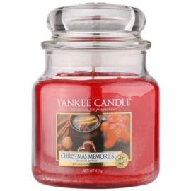 Yankee Candle Christmas Memories Duftkerze  411 g Classic medium
