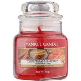 Yankee Candle Christmas Memories vonná svíčka 104 g Classic malá