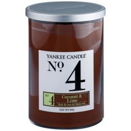 Yankee Candle Coconut & Lime Duftkerze  623 g Décor groß (No.4)