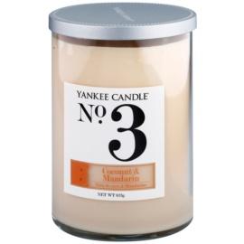 Yankee Candle Coconut & Mandarin vonná svíčka 623 g Décor velká (No.3)