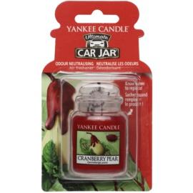 Yankee Candle Cranberry Pear ambientador de coche para ventilación   de suspensión