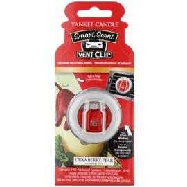Yankee Candle Cranberry Pear ambientador de coche para ventilación 4 ml clip